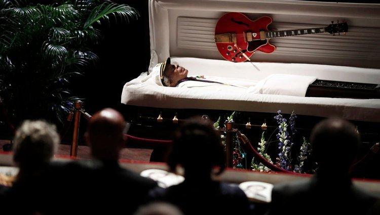 Chuck Berry búcsúztatása