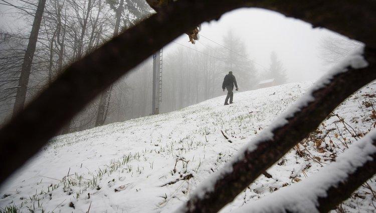 Áprilisi havazás a Kékestetőn