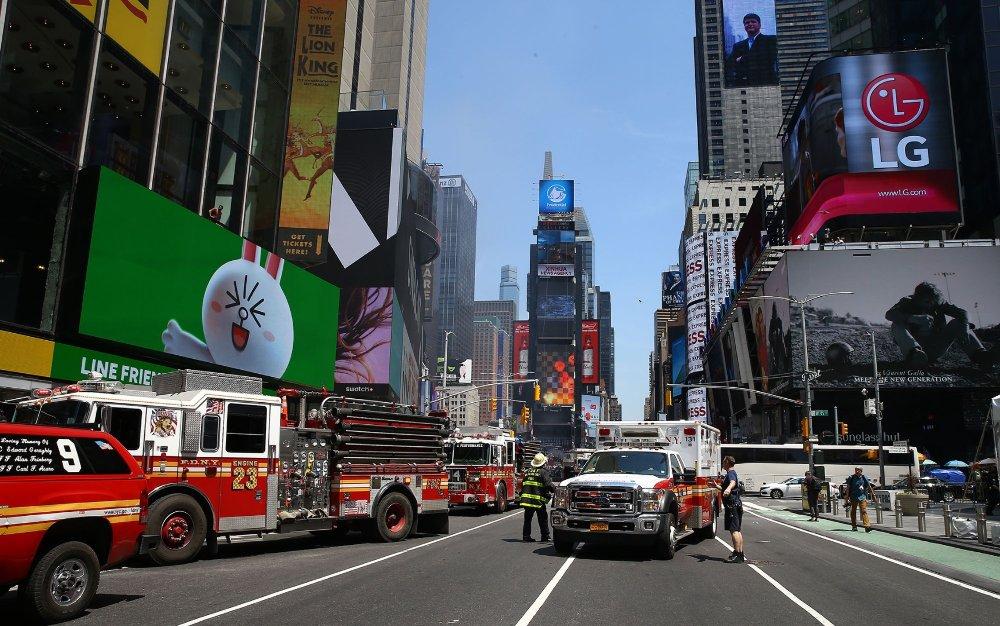 A tömegbe hajtott egy autós New Yorkban