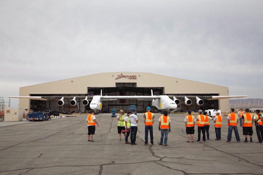 Így néz ki a világ legnagyobb repülőgépe
