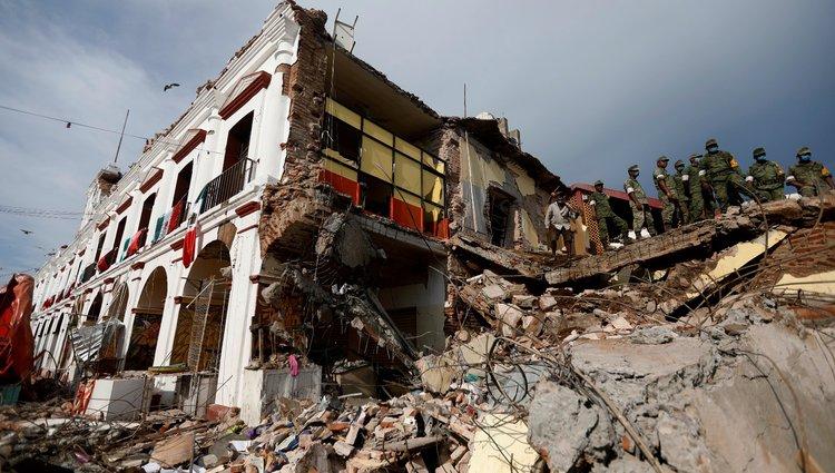 Hatalmas földrengés pusztított Mexikóban