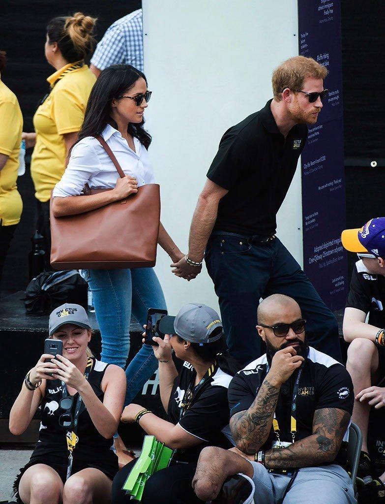 Először nyilvánosság előtt Harry herceg és Meghan Markle