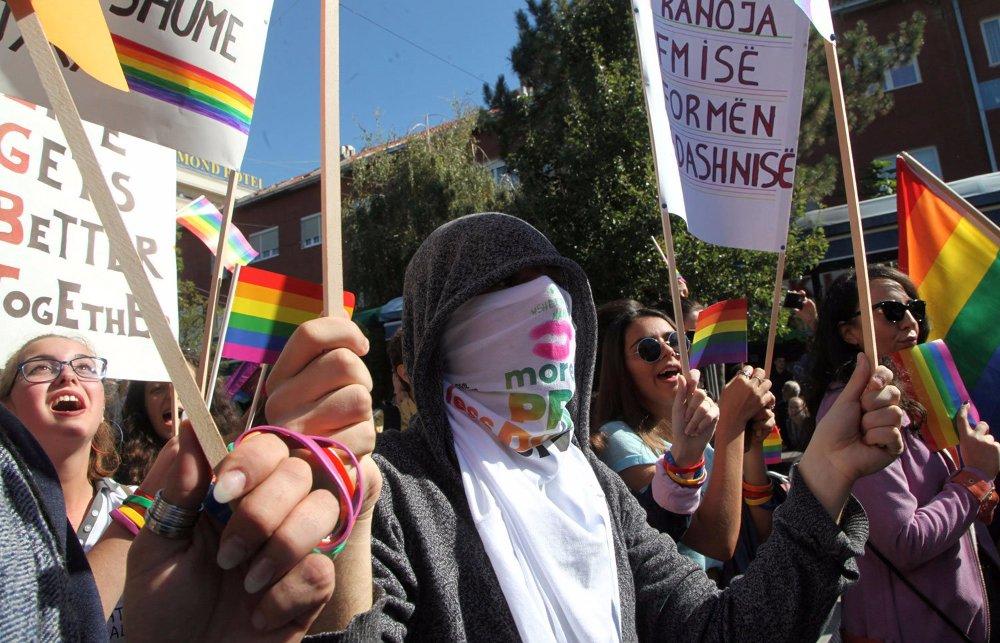 Megtartották az első Pristina Pride-ot