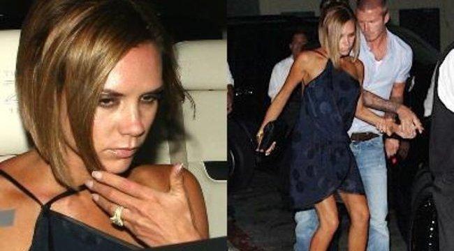 Beckham támogatta részeg nejét