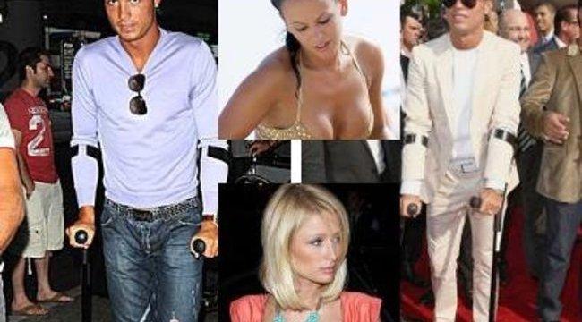 Paris Hilton lerohanta a mankókkal járó Ronaldot