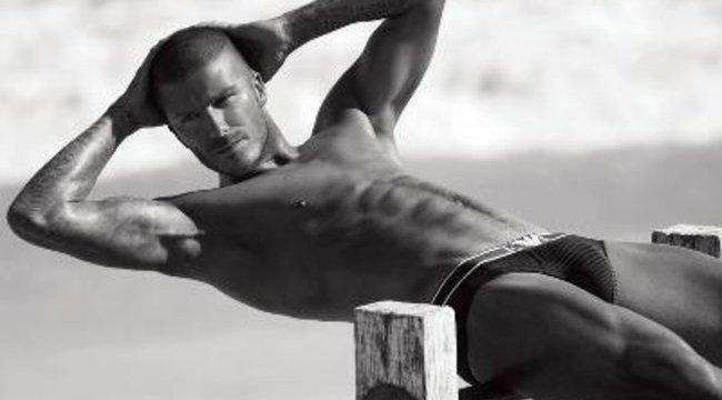 David Beckham ismét villantott!