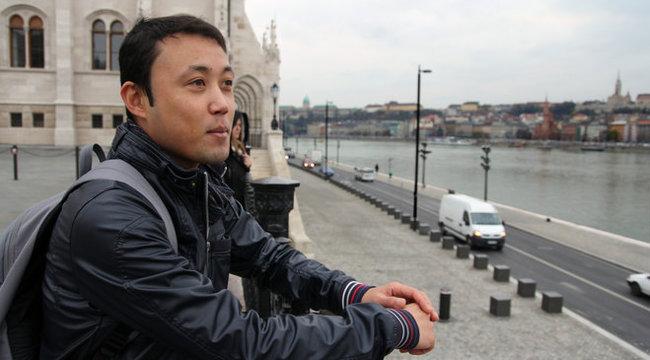 A pokolból menekült Budapestre Dariush