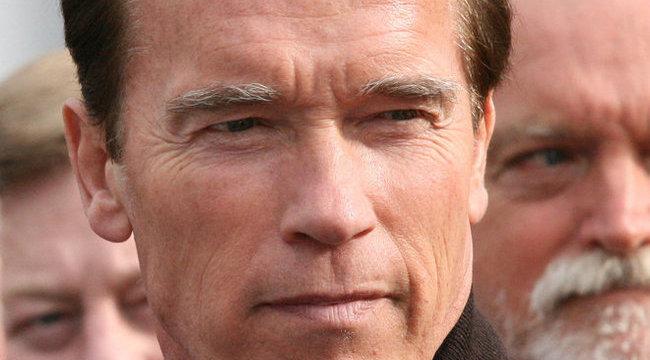 Megérkezett Arnold Schwarzenegger!