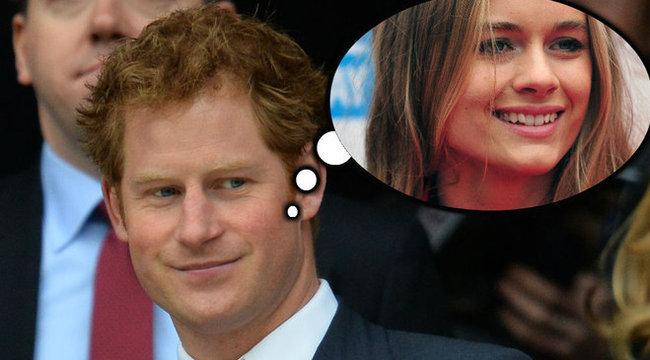 Harry hercegnek Cressida kell?