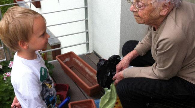 101 évesen sem beteg Dorka néni