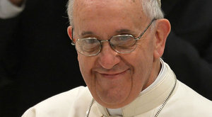 Randi helyett ment gyónni Ferenc pápa