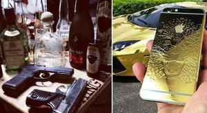 Facebookon kérkedik vagyonával a drogbáró fia