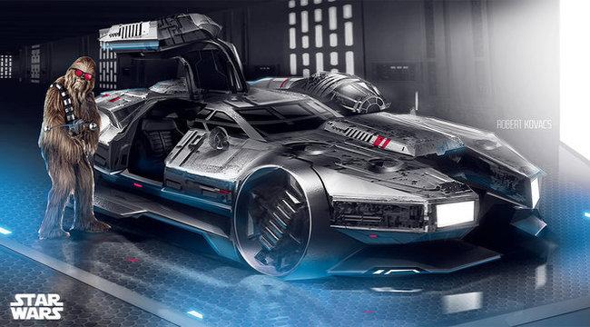 Star Wars-autót tervezett Róbert