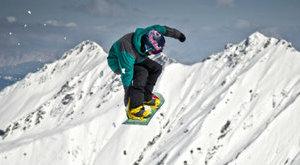 Farmerpárti Panka, a vb-hatodik snowboardos