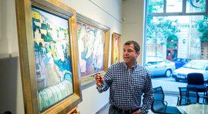 100 éve eltűnt festmények után kutat Gergely