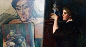 Gazdaggá tette az apjától örökölt festmény