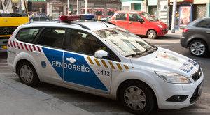 Kisfiút gázolt el egy rendőrautó Budapesten