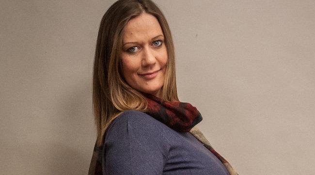 Juhász Adri terhességét a kollégája vette észre
