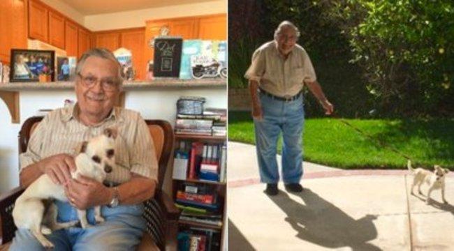 Ettől a cuki nagypapától olvad el éppen az internet - fotó