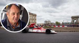 Gerhard Berger otthon érzi magát Budapesten - interjú