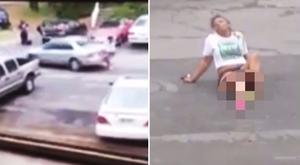 Sokkoló videó: pasija szeretője gázolta el a lányt