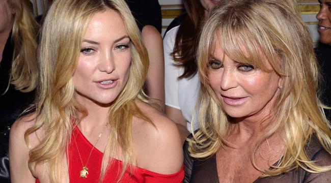 Együtt bagózik Goldie Hawn és Kate Hudson