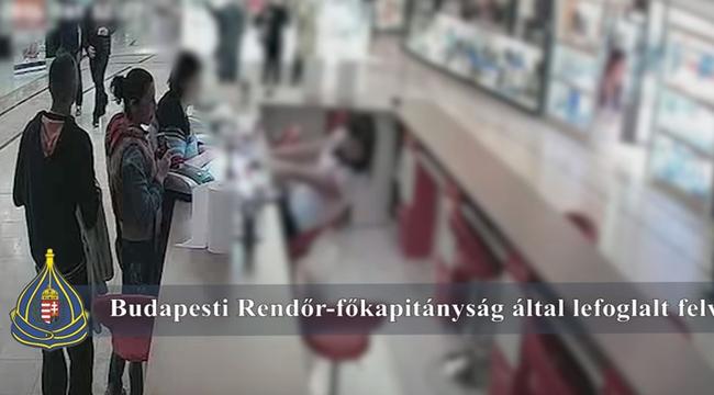 Ön látja ezen a videón, mikor lopják el a tabletet a pultból az Árkádban?