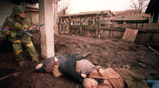 Örök sebet ejtettek a szerbek Szentlászlón – durva fotók