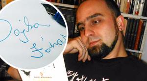 Százezerért árulja saját aláírását János