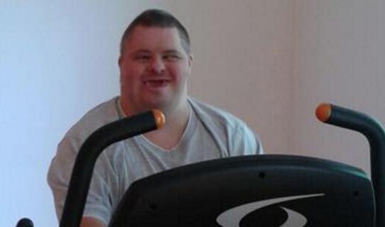 Új teremben edz a Down-szindrómás Attila