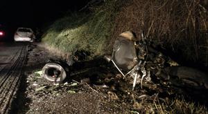 Borzalmas motoros tragédia történt Solymárnál