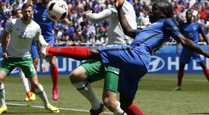 Foci-EB:Negyeddöntőben a házigazda franciák