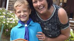 Hős:8 éves és már életet mentett