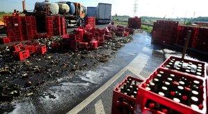 Tragédia a sörfogyasztóknak: rengeteg odaveszett az M0-áson