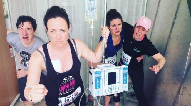 Mókás: így még a kemoterápia is lehet szórakoztató