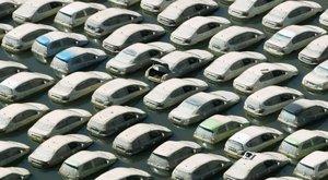 Vízkáros autók öntik el a használtautó-piacot