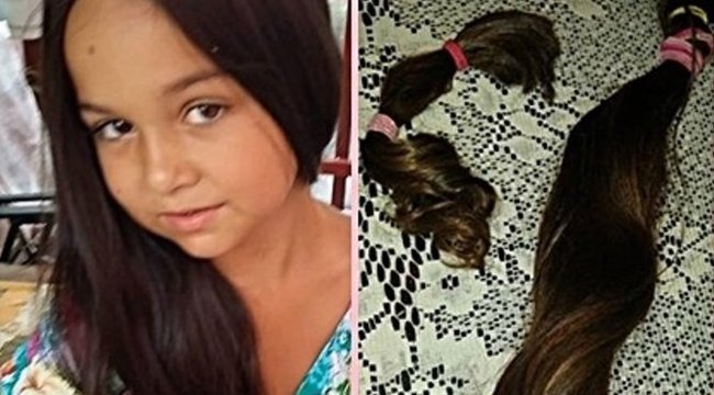 Jószívű: daganatosgyerekeknek adja a haját Lili