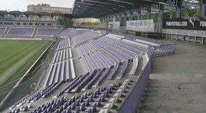 Szétesik az Újpest stadionja