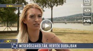 Verés és erőszak várta a magyar luxusprostit Dubajban - videó