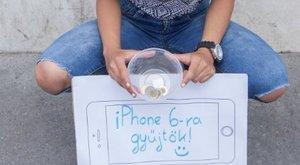 Bors-teszt:iPhone 6-ra gyűjtök, segíts!