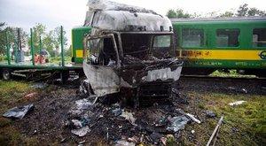 Döbbenet - videón a rettenetes barcsi vonatbaleset