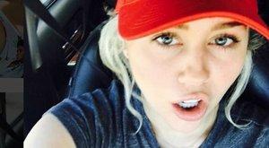 Miley Cyrus meleggé tenné Amerikát