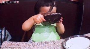 Ilyen étvágyú gyereket még életében nem látott - Vigyázat, cukiság!