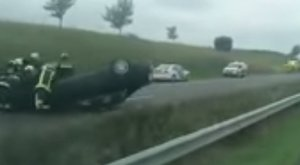 Halálos baleset az M1-en - videóval