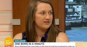 Egy perc alatt szült meg gyerekét az anya