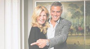 Clooney-ra bukik Návai