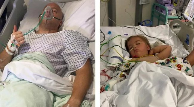 Hároméves, stroke-ot kapott kislányának adta a veséjét az apa