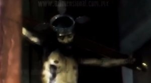 Csoda: kinyitotta egy Jézus szobor a szemét