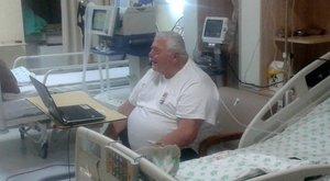 Levették a lélegeztetőgépről a magyar szumóedzőt