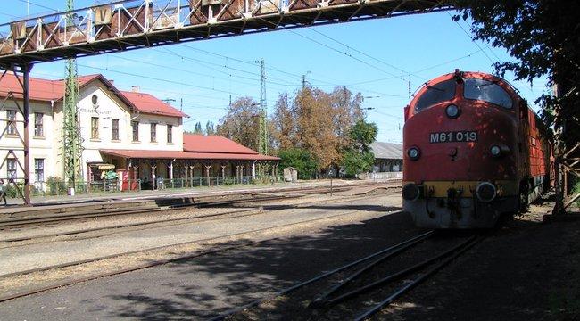 Vonat gázolt Rákospalotánál